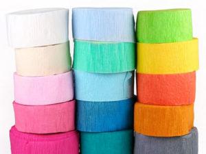 Crepe Paper Dye recipe