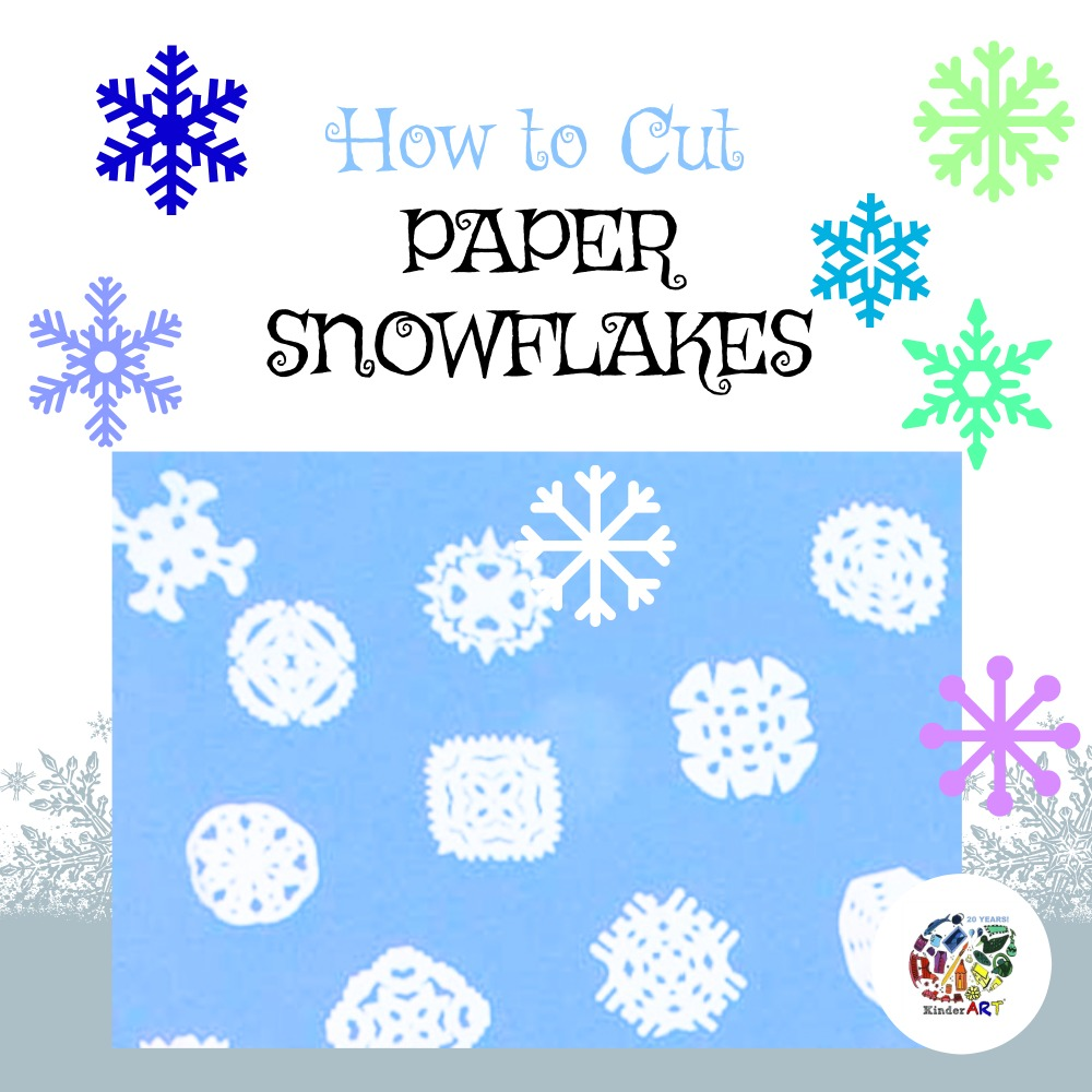 Cut your own paper snowflakes