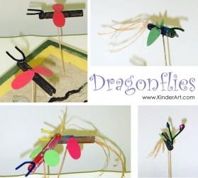 Clothespeg Dragonflies