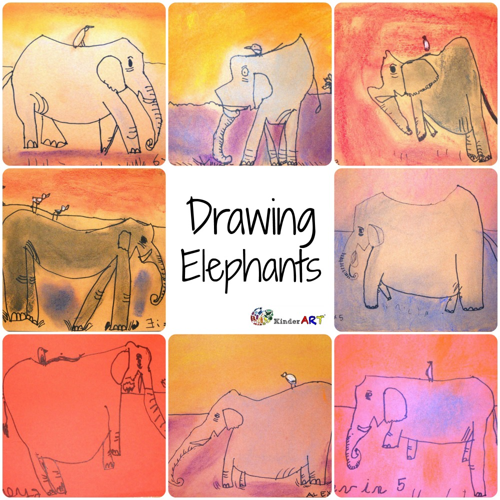 Learn how to draw an elephant.