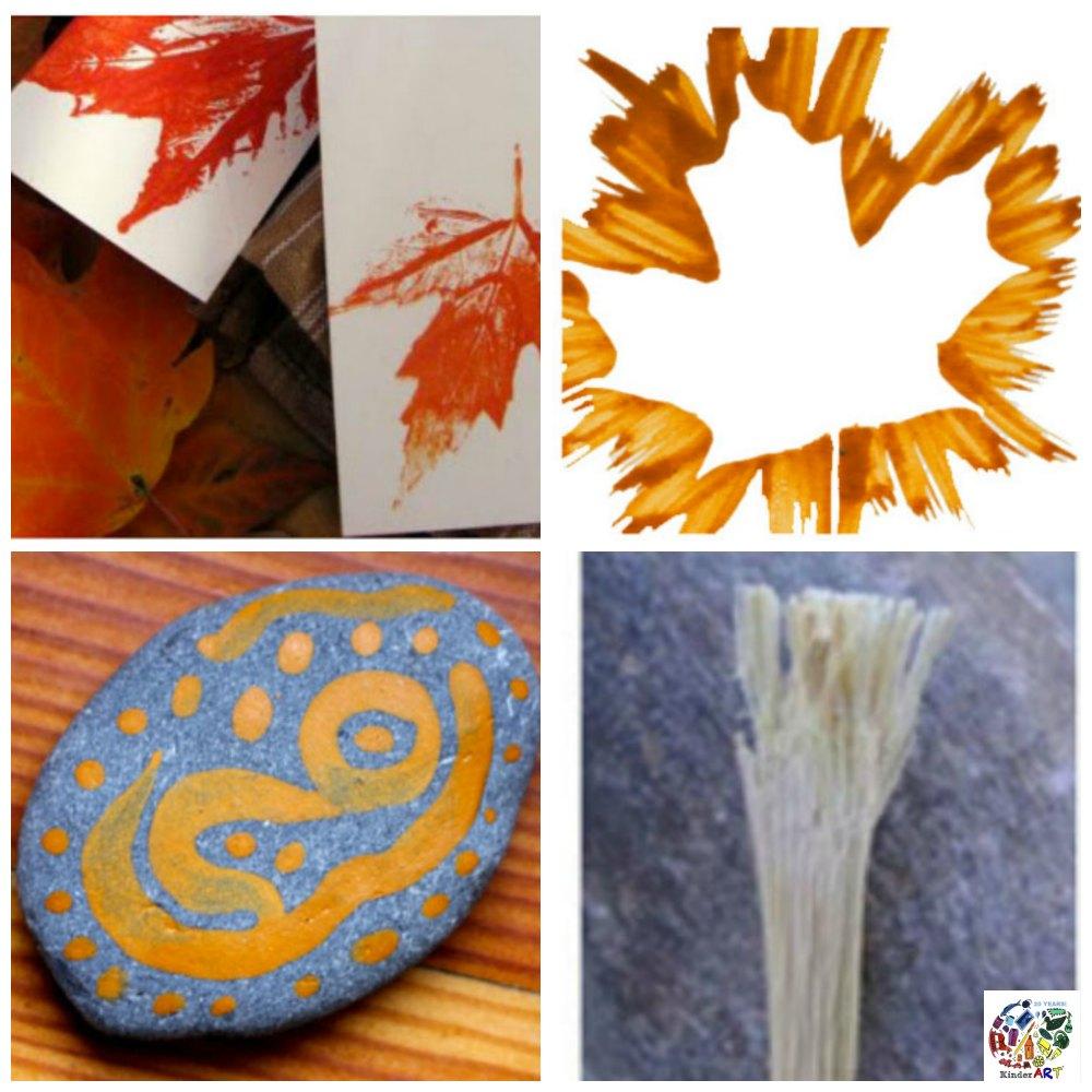 Nature Based Art Activities. KinderArt.com.