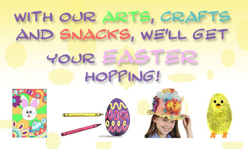 Easter at KinderArt.com