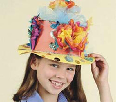 Make paper Easter bonnets.