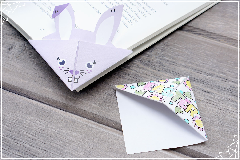 DIY woodland animals origami bookmarks {print + fold} - It's ...   1000x1500