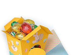 Easter Egg Cubby House Craft