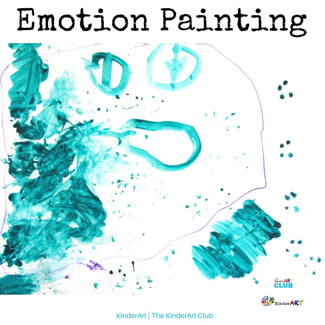 Emotion Painting art lesson plan