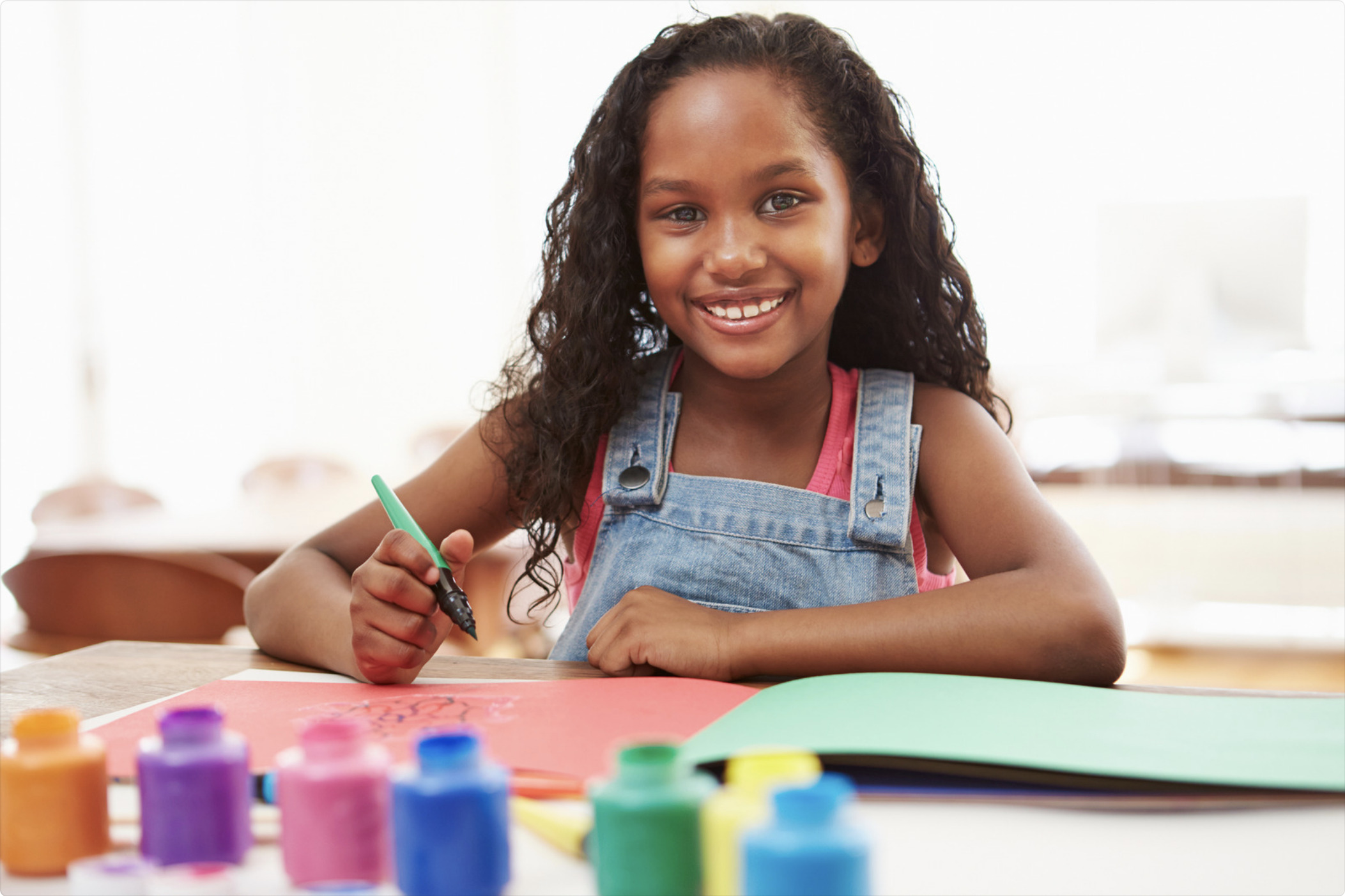 Help Your Child Express Herself With Art