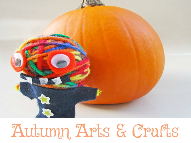 Autumn crafts and activities for kids.