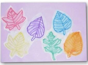 Fall Leaf Watercolors