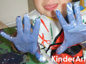 Make your own fingerpaint.