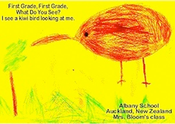 First grade what do you see?