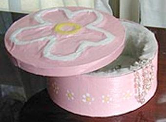 Flower Jewel Box Craft