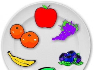 Fruit color wheel lesson plan.