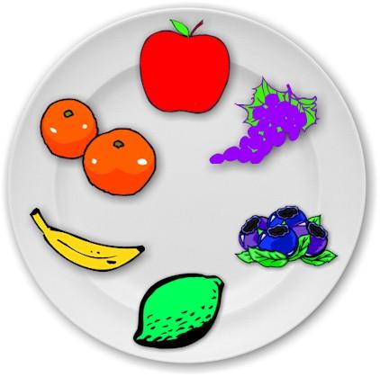 Fruit color wheel lesson plan.