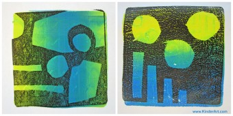 Monoprinting with Gelli Arts