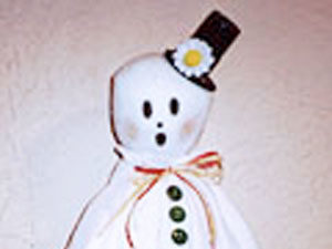 Gentleman Ghost craft for kids.