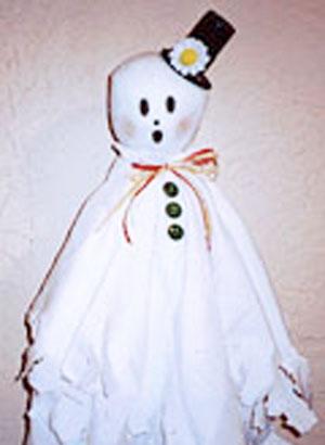 Gentleman Ghost craft for kids.