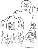 Ghost in Graveyard