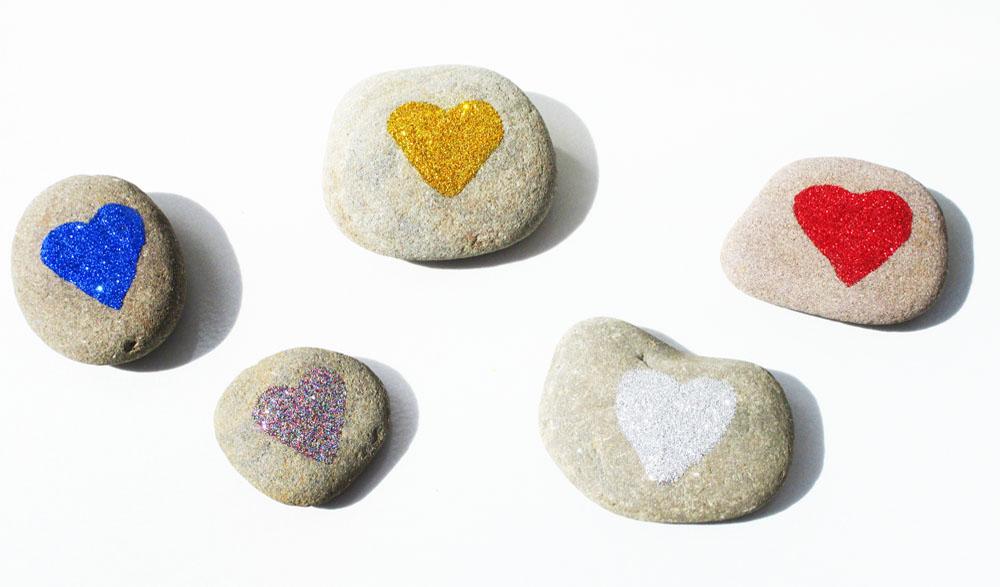 Glitter rocks!