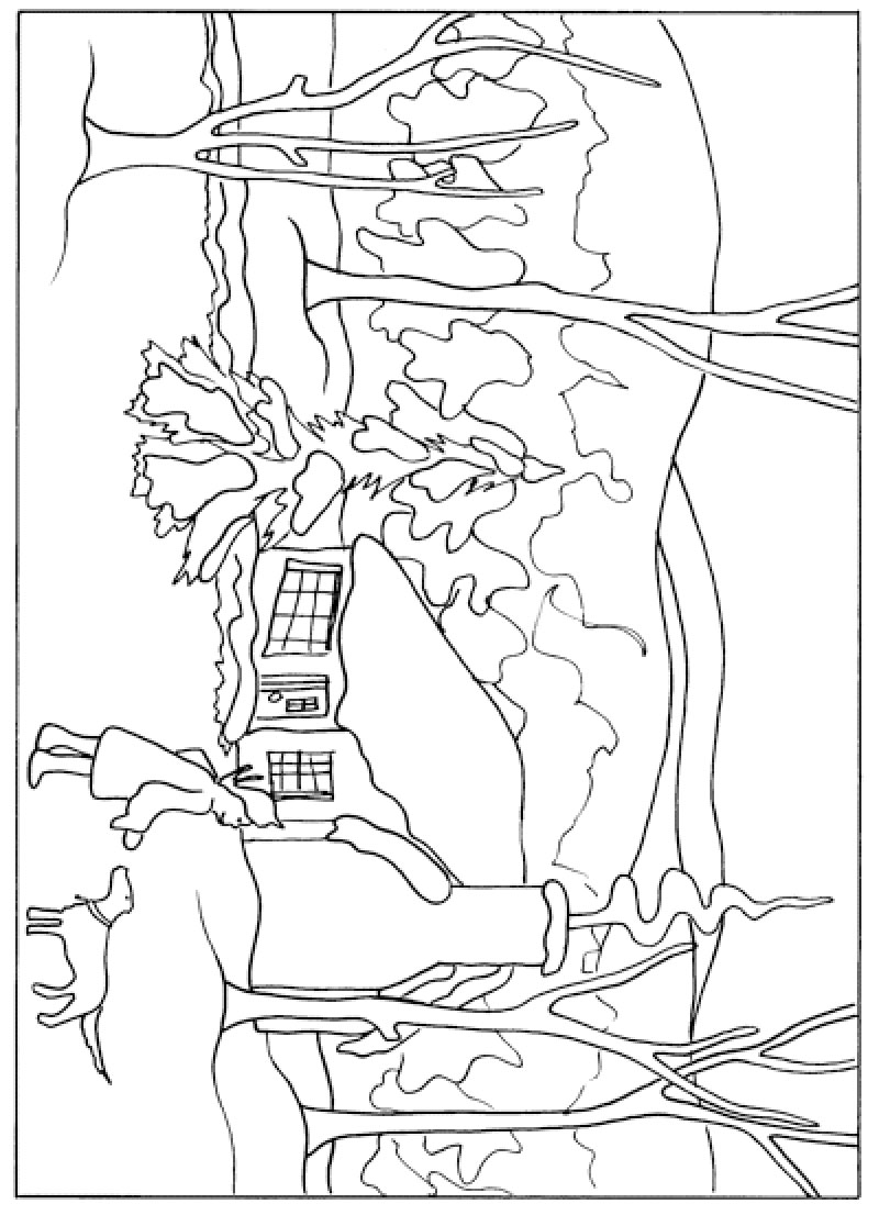 Anna mary robertson grandma moses kinderart for Moses coloring pages