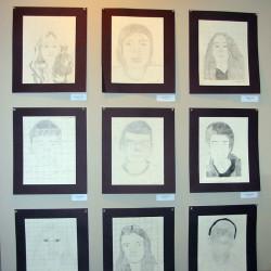 Chuck Close Portrait Drawing Lesson Plan