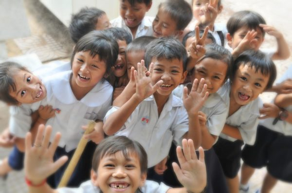 Back to School Happy Kids