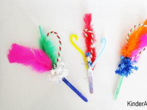 Make happy sticks!