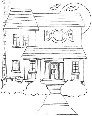 4100 House Coloring Pages Pdf Download Free Images