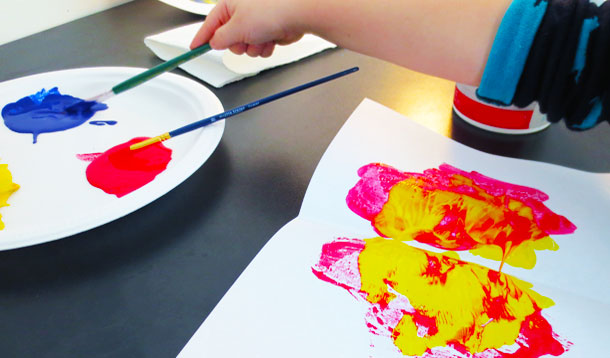 How to make art when you don't know how to make art. KinderArt.com