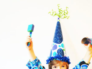 Big Party Hat Craft. KinderArt.com