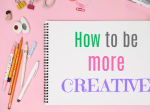 How to be more creative. Stop doing these 10 things. KinderArt.com