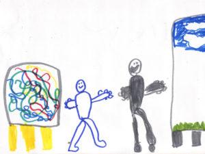 Sketchbook starter - I am an artist