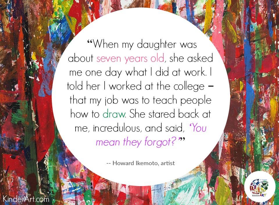 Art Quotes from KinderArt.com