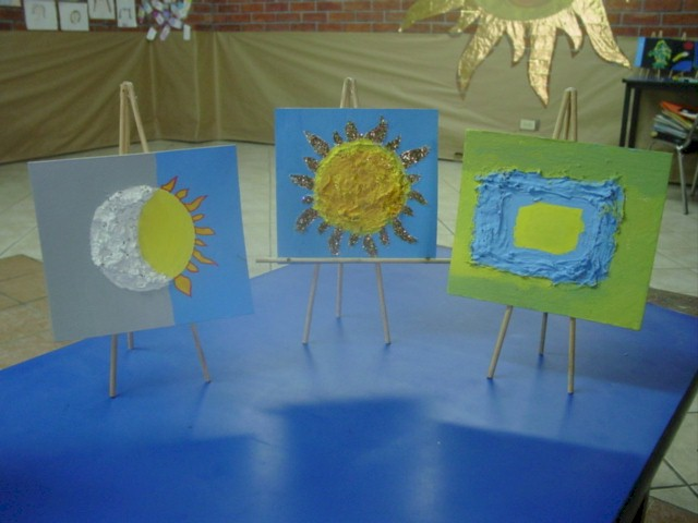 3-D Texture Painting (Impasto) Lesson Plan: Painting for Kids ...