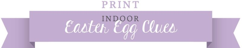 Indoor Clues. Create your own Easter Egg Scavenger Hunt. KinderArt.com.