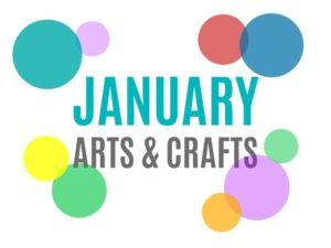 January Arts, Crafts and Activities for Kids from KinderArt.com