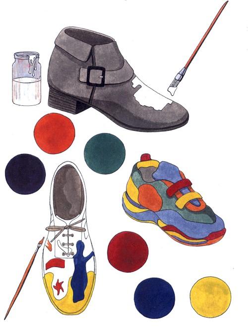 Paint your shoes!