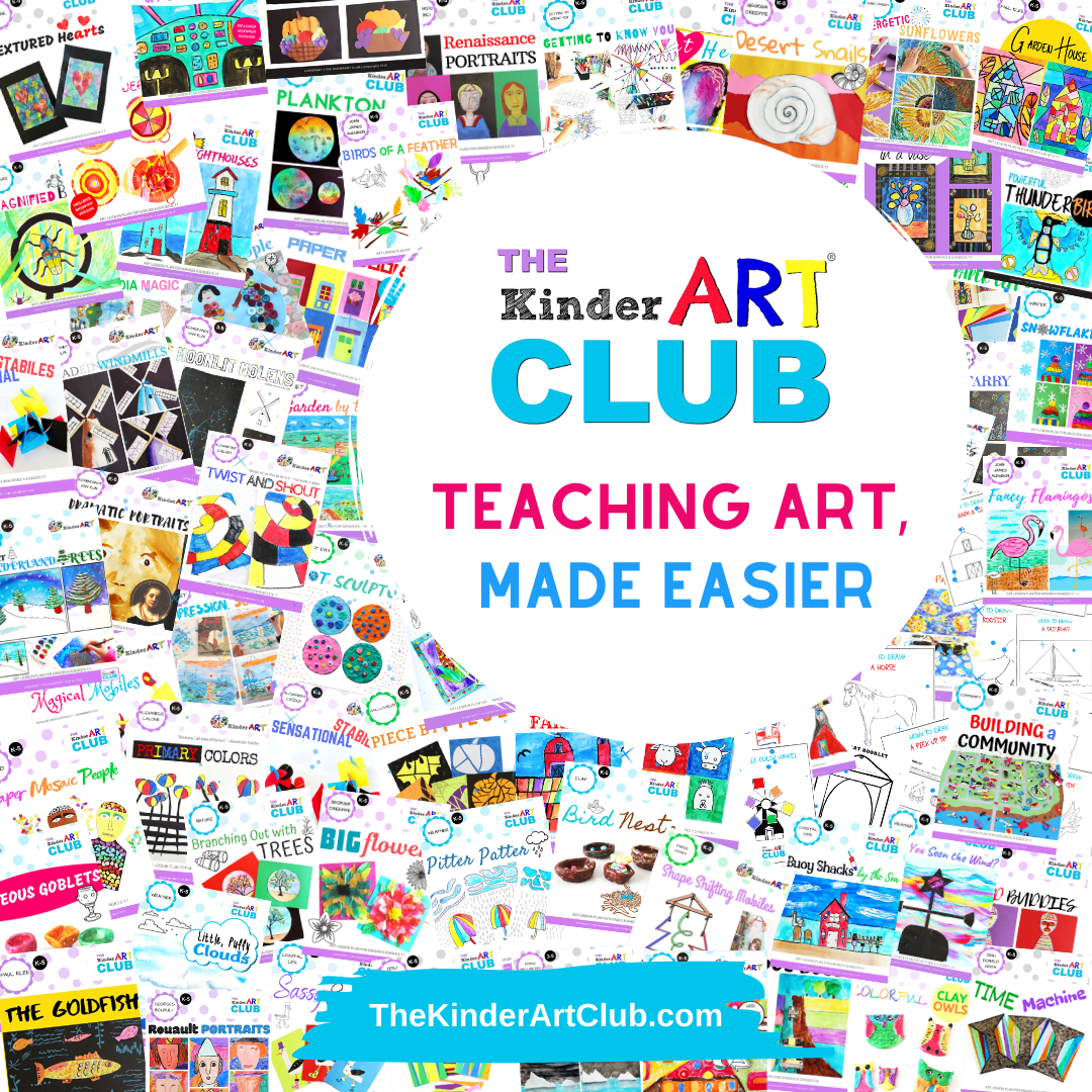 KinderArt – We Make Teaching Art Easier with Art Lessons and Projects for Children