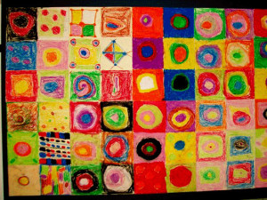 Kandinsky Circles Lesson Plan
