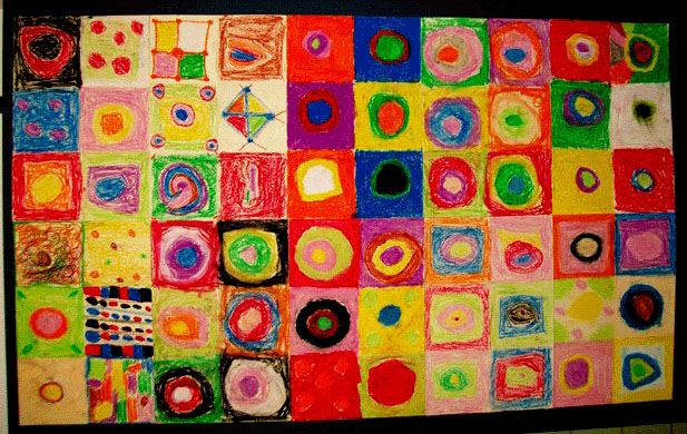 Color Study, Paul Klee Style · Art Projects for Kids