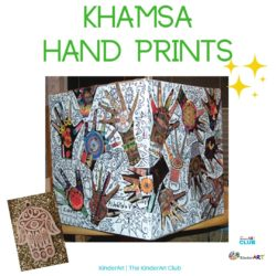 Khamsa Hand Prints lesson plan