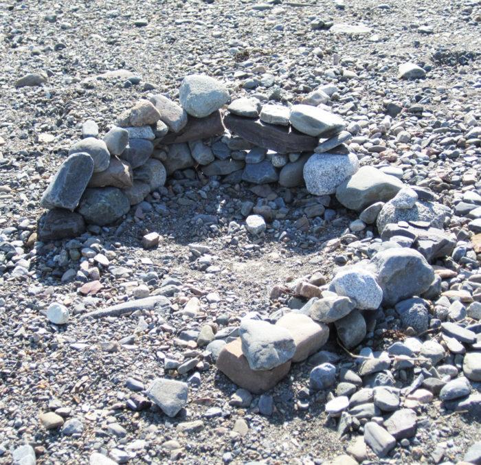 Rock art sculpture