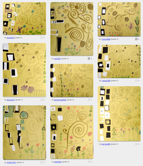 Building a Klimt Student Examples