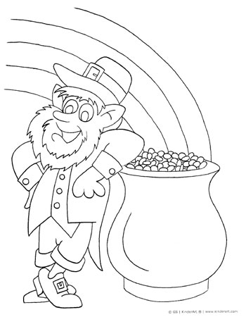 Free St Patricks Day and Spring Coloring Pages to Print and Color
