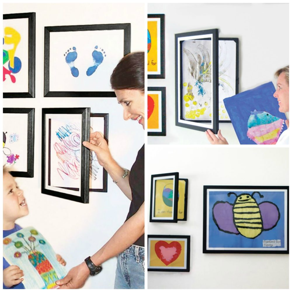 Kids Art Frames. KinderArt.com