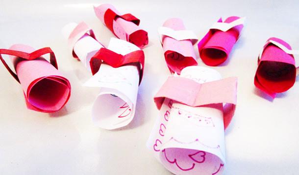 Love notes Valentine's Day craft