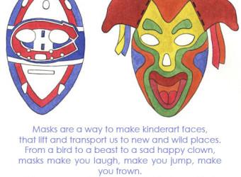 Paper Mask Lesson