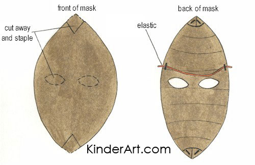 Paper Mask Instructions