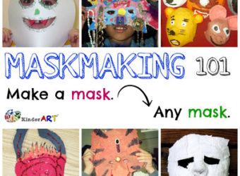 Maskmaking 101. KinderArt.com