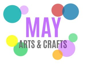 May Arts, Crafts and Activities for Kids from KinderArt.com